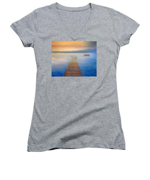 Sunken Dreams Women's V-Neck T-Shirt