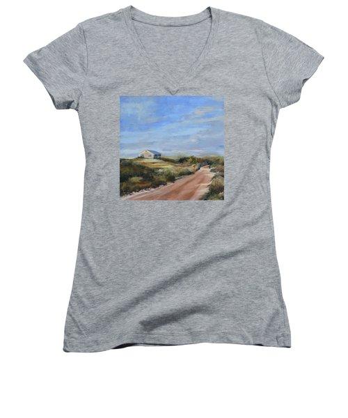 Sunlight's Coming Women's V-Neck T-Shirt