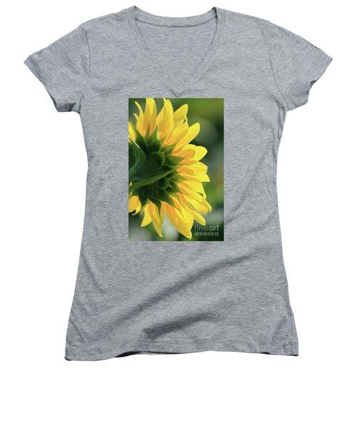 Sunlite Sunflower Women's V-Neck T-Shirt