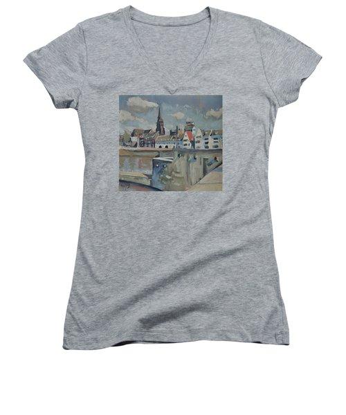 Sunny Wyck Maastricht Women's V-Neck T-Shirt