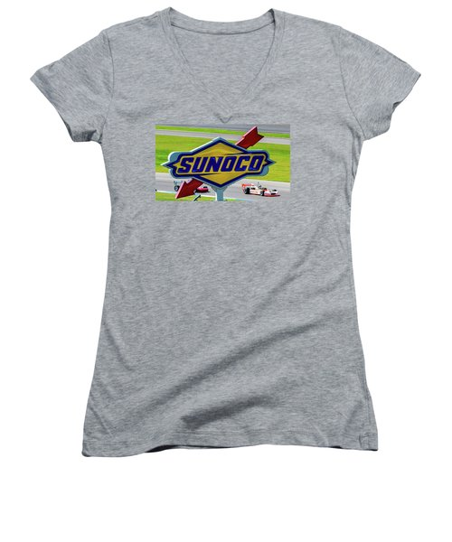 Sunoco Women's V-Neck (Athletic Fit)