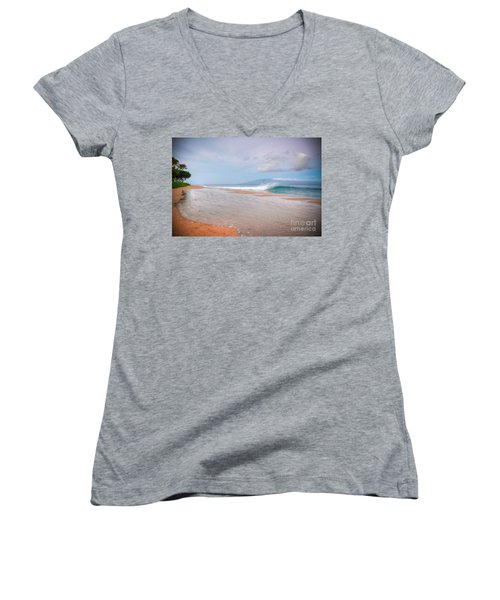 Sunrise Break Women's V-Neck T-Shirt