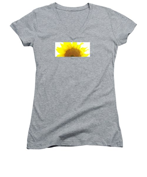Sunflower Sunrise Women's V-Neck (Athletic Fit)