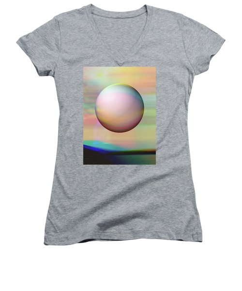 Sunrise Visitor Women's V-Neck T-Shirt