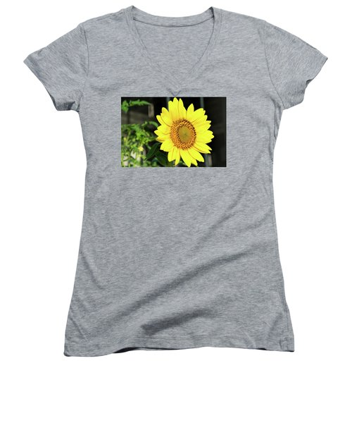 Sun's Up Women's V-Neck (Athletic Fit)