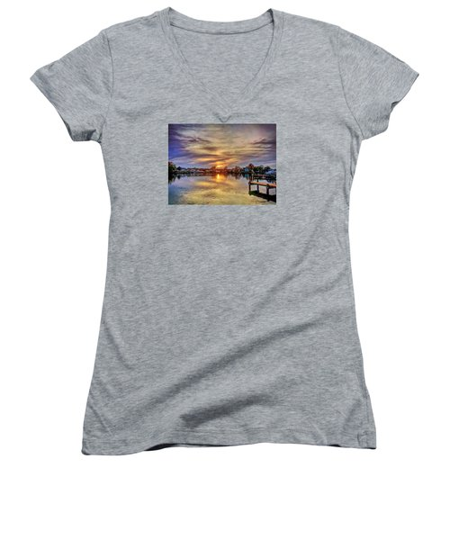 Sunset Creek Women's V-Neck