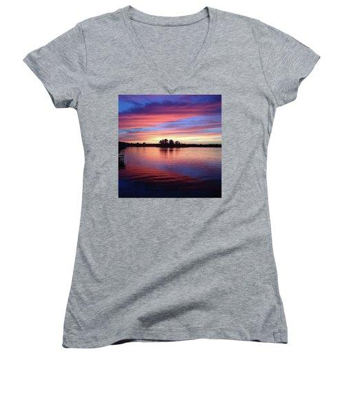 Sunset Dreams Women's V-Neck T-Shirt