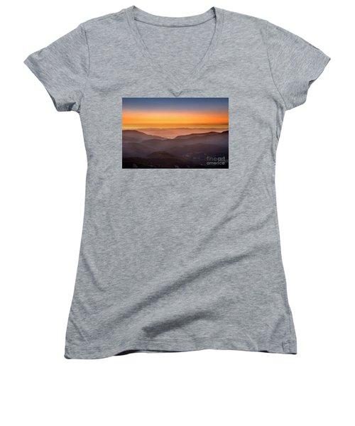 Sunset Point Women's V-Neck T-Shirt