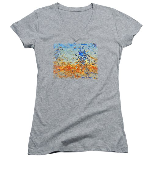 Sunset Walk Women's V-Neck