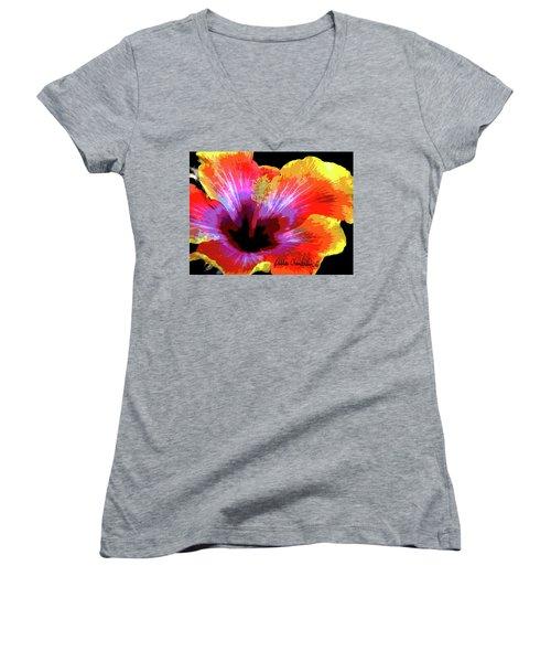 Sunshine Bemine Women's V-Neck T-Shirt