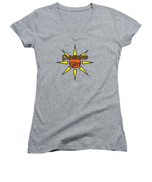 Sunshine Girl Women's V-Neck