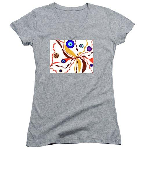 Superficial Women's V-Neck T-Shirt