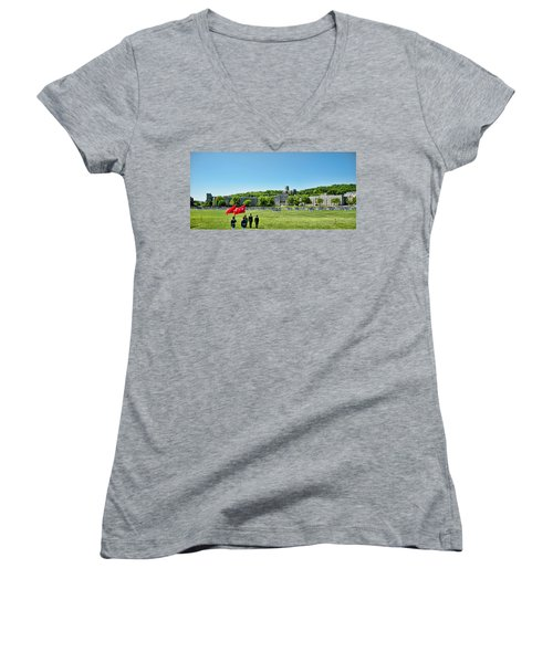 Superintendent's Review Wide Angle Women's V-Neck