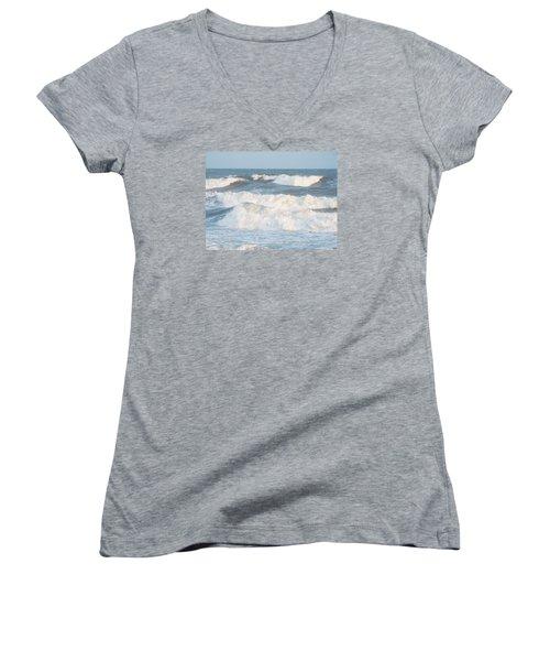 Surf Up Women's V-Neck T-Shirt