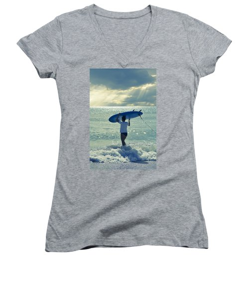 Surfer Girl Women's V-Neck
