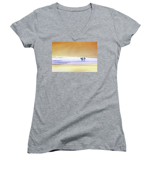 Surfers Women's V-Neck