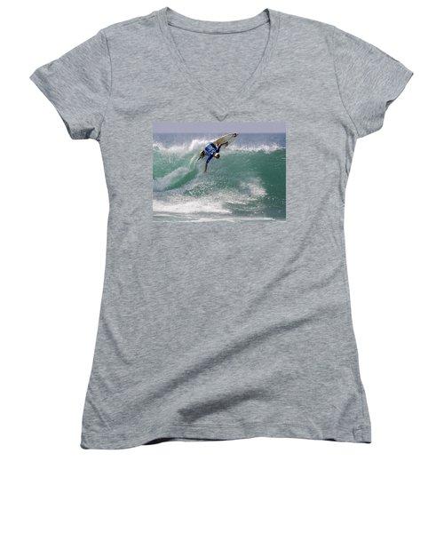 Surfing Women's V-Neck