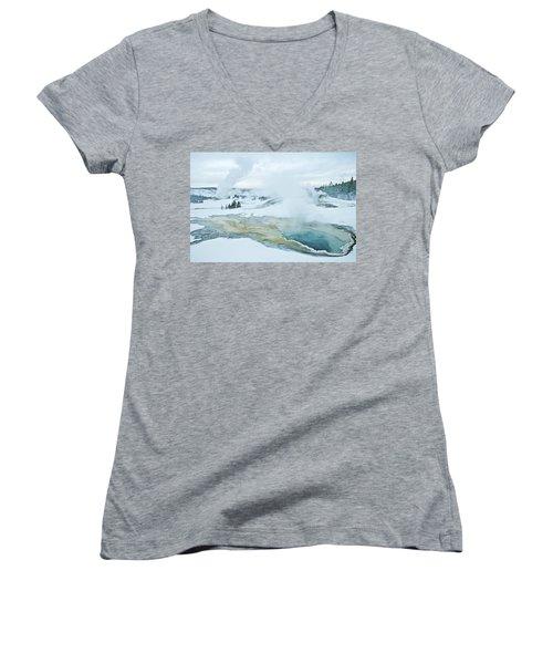 Surreal Landscape Women's V-Neck