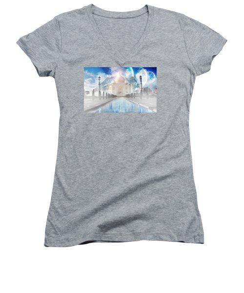 Surreal Women's V-Neck T-Shirt