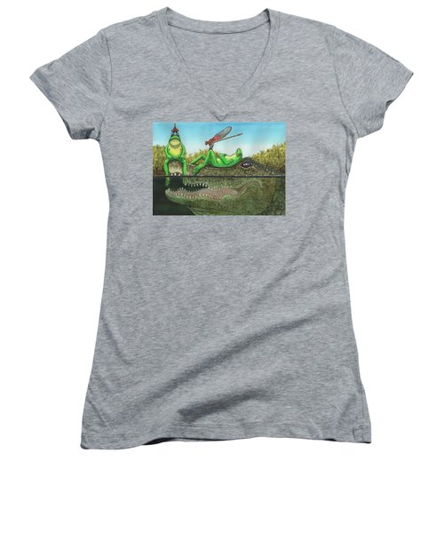Swamp Women's V-Neck T-Shirt
