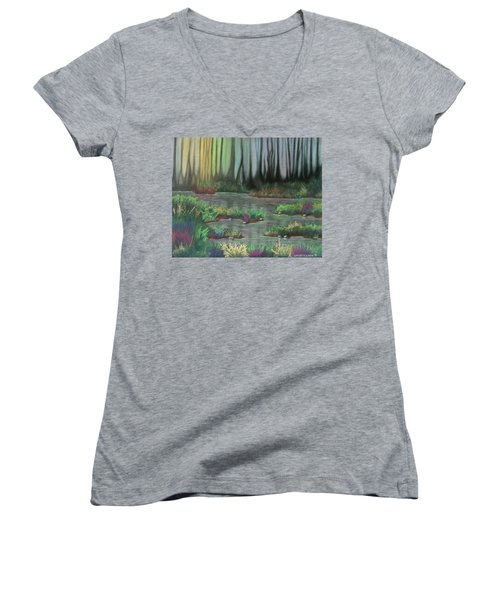 Swamp Things 01 Women's V-Neck T-Shirt