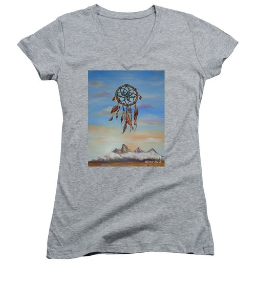 Sweet Dreams Women's V-Neck