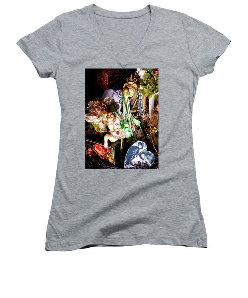 Sweet Montage Women's V-Neck T-Shirt