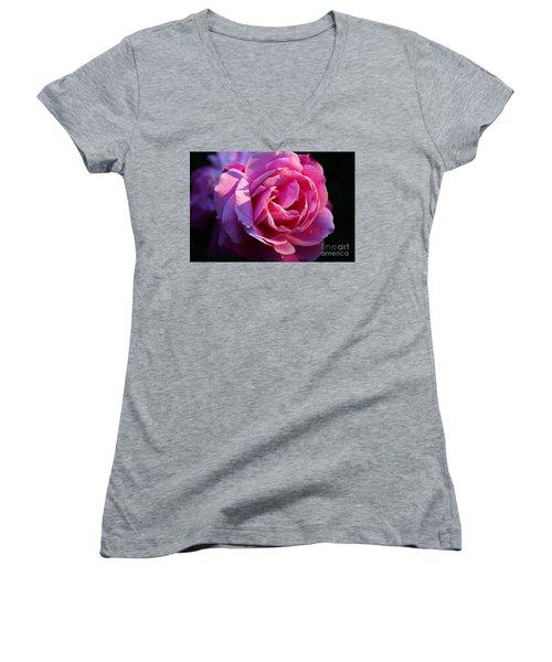 Sweet Rose Women's V-Neck T-Shirt