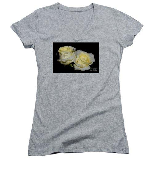 Friendship Roses Women's V-Neck T-Shirt