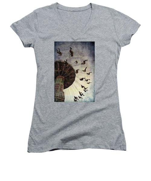 Swirling.... Women's V-Neck T-Shirt