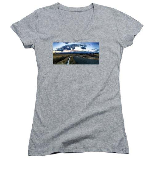 Swoope Virginia Women's V-Neck T-Shirt