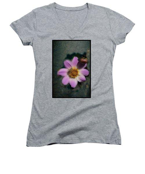 Symbiotic  Women's V-Neck T-Shirt