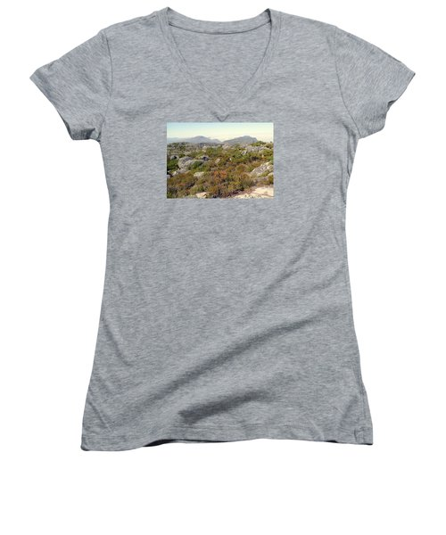Table Rock Summit Women's V-Neck T-Shirt