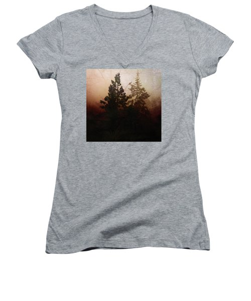 Tahoe Pines Women's V-Neck T-Shirt