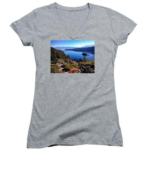 Tahoe Women's V-Neck T-Shirt