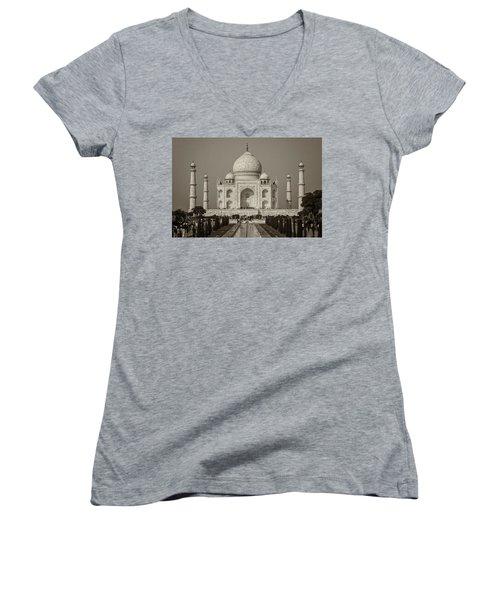 Taj Mahal Women's V-Neck