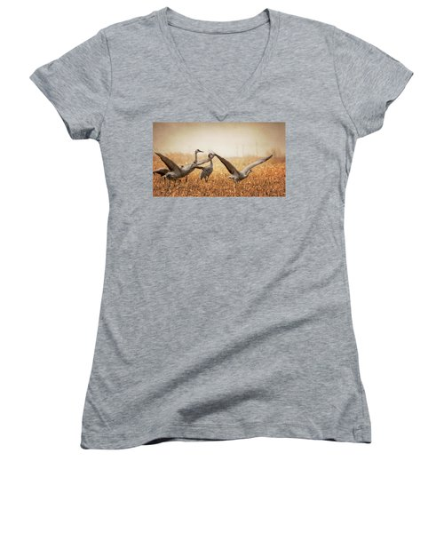 Take Off Women's V-Neck