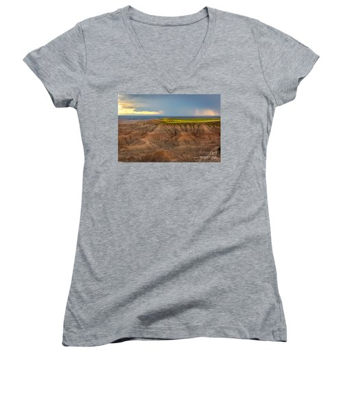 Take The High Road Women's V-Neck T-Shirt