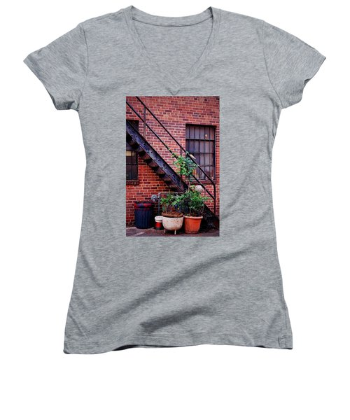 Take The Stairs Women's V-Neck
