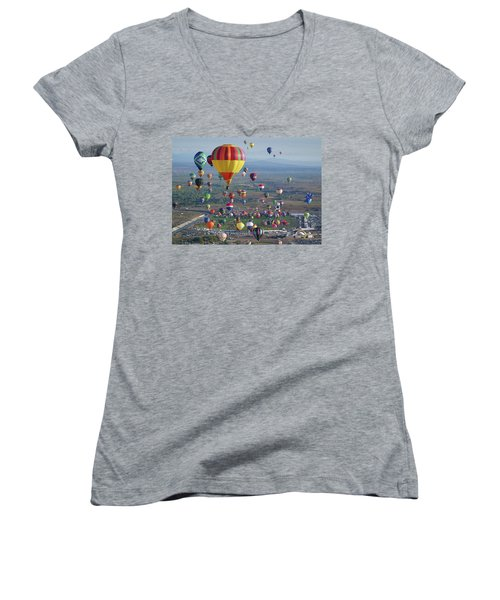 Taking Flight Women's V-Neck
