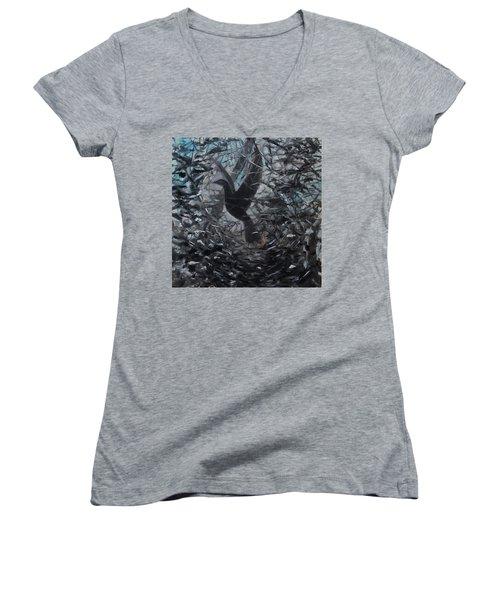 Taking Flight Women's V-Neck T-Shirt