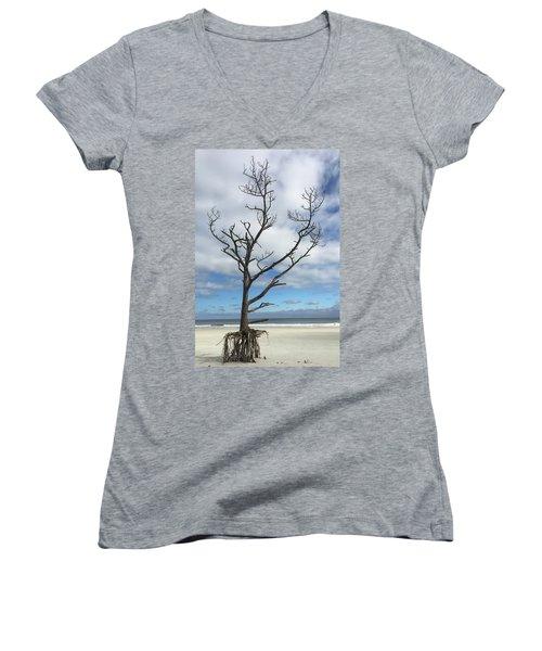 Talbot Stilt Tree #1 Women's V-Neck