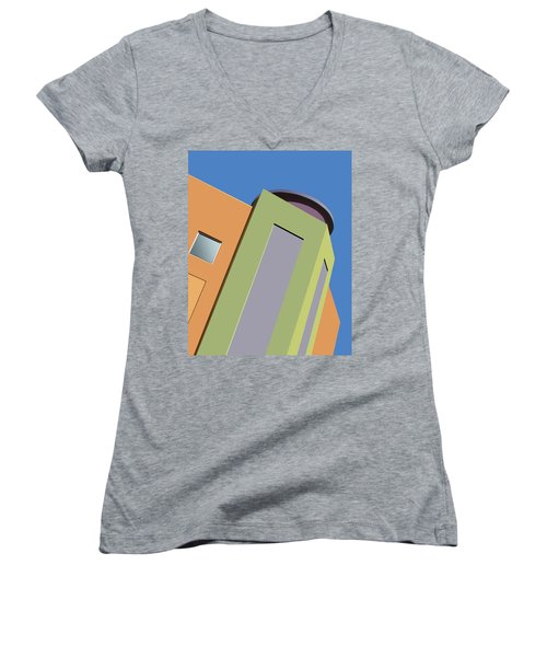 Talin Tilt Women's V-Neck T-Shirt