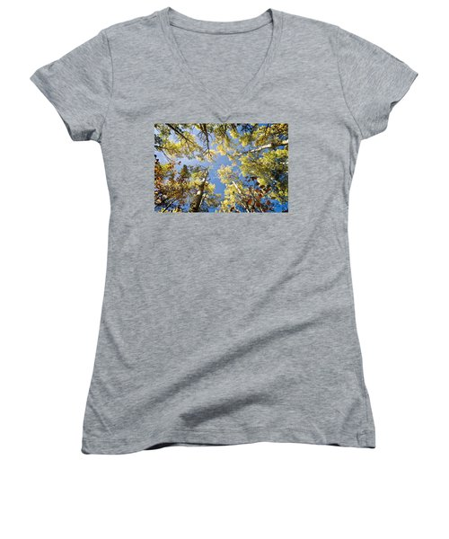 Look Up Women's V-Neck