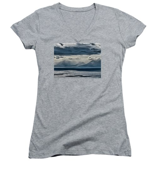 Tallac Stormclouds Women's V-Neck