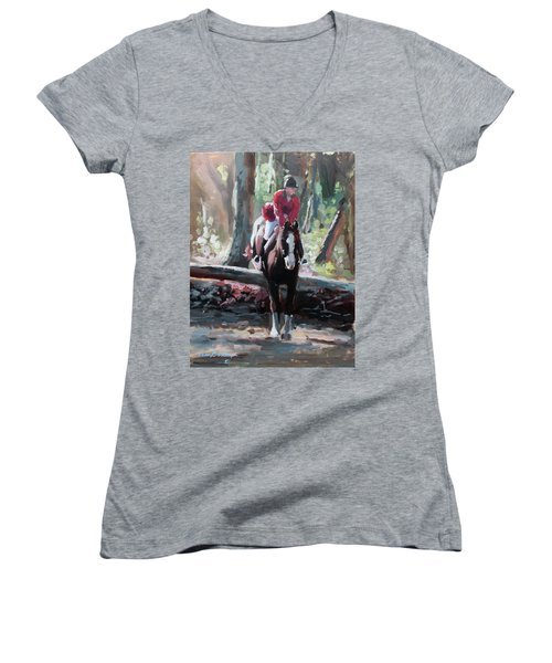 Tally Ho Women's V-Neck T-Shirt