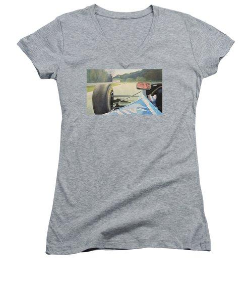 Tamburello 1994 Women's V-Neck T-Shirt