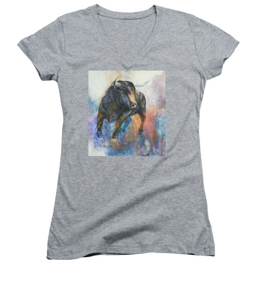 Tango On Wall Street Women's V-Neck