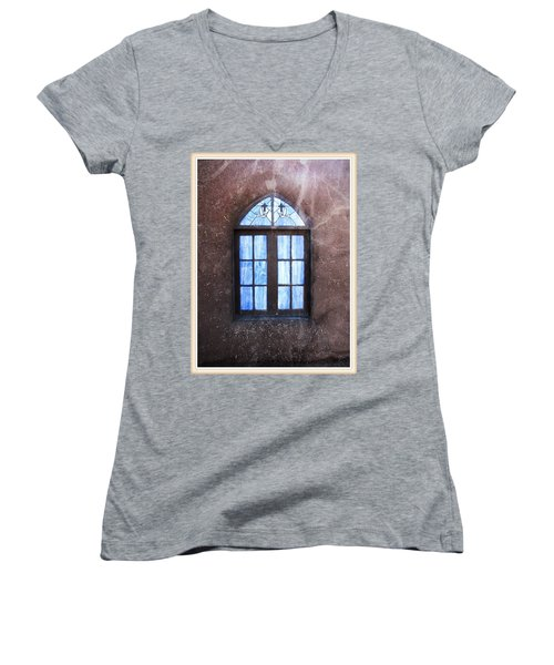 Taos, There's Something In The Light 4 Women's V-Neck