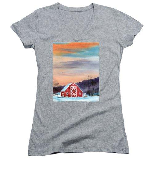Target Range Barn Women's V-Neck T-Shirt